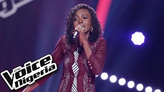 """Glory Amanyi sings """"Irreplaceable"""" / Blind Auditions / The Voice Nigeria Season 2"""