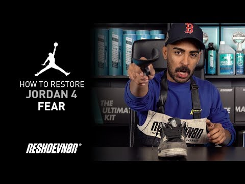 Vick Almighty Restores Air Jordan Fear 4 With Reshoevn8r!