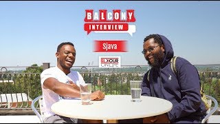 Sjava talks all things music in the latest episode of Balcony Interview