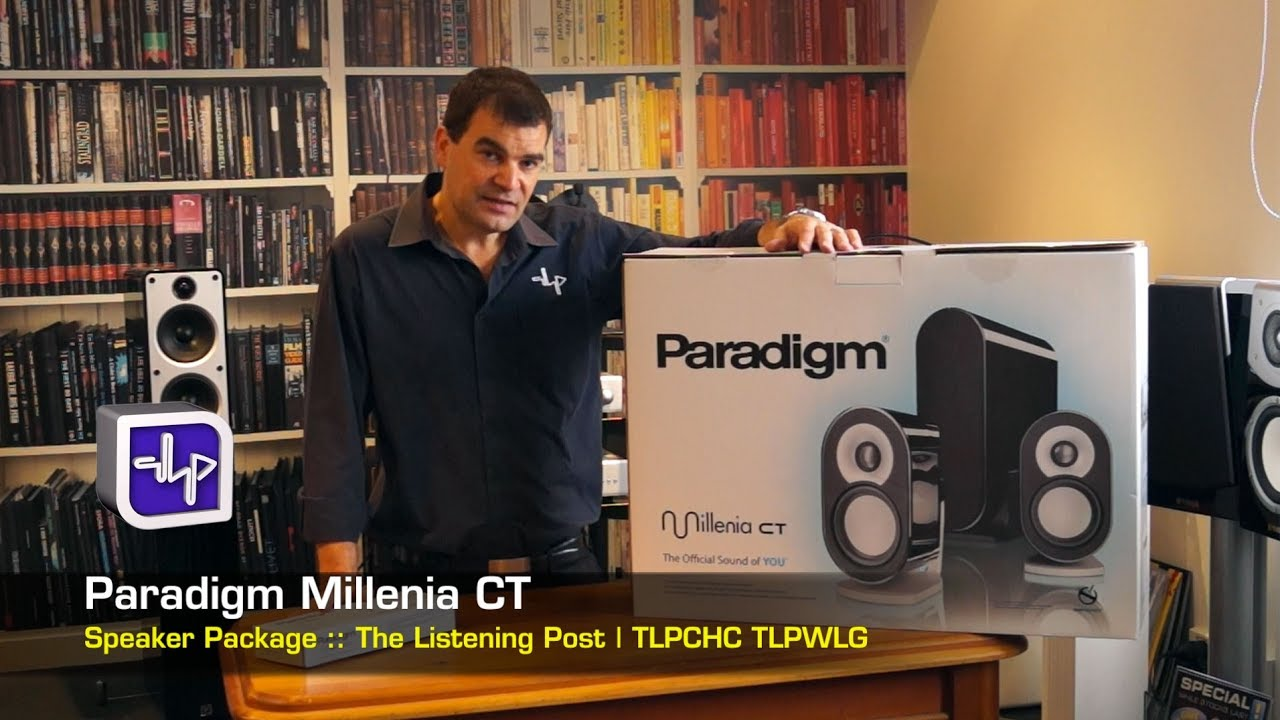 Paradigm Shift Millenia CT Package Unboxing | The Listening Post | TLPCHC  TLPWLG