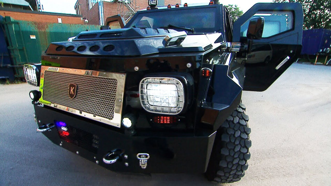 Knight XV, the Canadian armoured car that costs over $600K