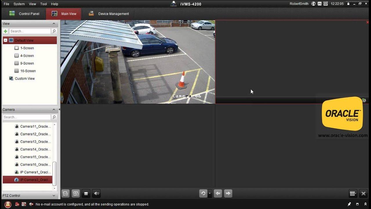 HikVision IVMS Import & Delete Cameras From NVR/DVR