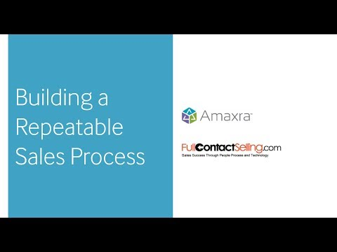 Planning For CRM Success Webinar | Building a Repeatable Sales Process Pt. 2