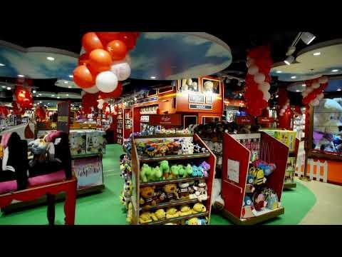 Hamleys store in DLF Mall of India, Noida