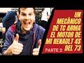 Armado De Motor De Renault 4    Parte 2   Como Colocar El Árbol De Levas Y La Balancinera O Flautín