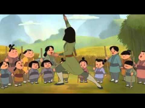 Мультфильм мулан и мулан 2
