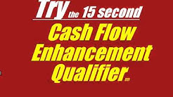 15 Second Interest Only Mortgage, Cash Flow Enhancement Qualifier and calculator