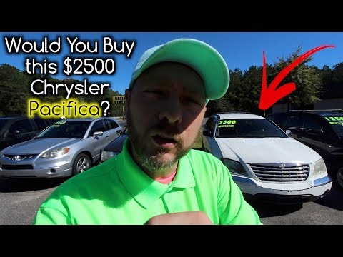 Do you Remember the Chrysler Pacifica? ( Would You Buy it for $2500 ? ) Review