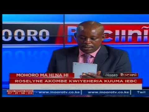 Inooro Rucini: Roselyn Akombe Kwiyeheria Kuuma IEBC[PART 2]