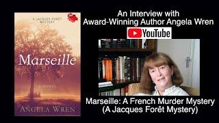Virtual Author Interview Anġela Wren Yorkshire England Marseille