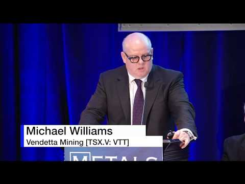 Metals Investor Forum September 2018 - Michael Williams, CEO of Vendetta Mining Corp.