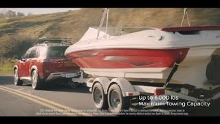 homepage tile video photo for All-New 2022 Nissan Pathfinder | Lake Day