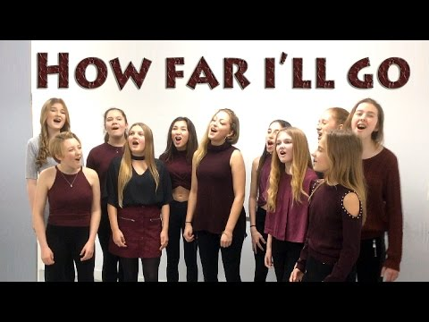 """How Far I'll Go"" (Disney's Moana) COVER by Spirit YPC"