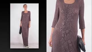 PLETENA MODA.Вязаное платье для настоящей королевы.#2