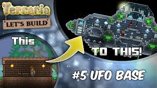 Terraria 1.3 Let's Build Series Ep5: Out Of This World! (terraria House Design Tutorial)