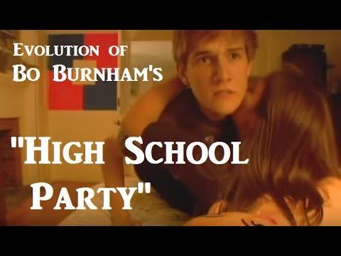 Evolution of Bo Burnham's