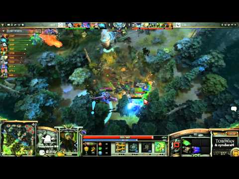 SNT vs CIS Game 3 - SinaCup China Dota 2 1st Qualifier - TobiWan & syndereN
