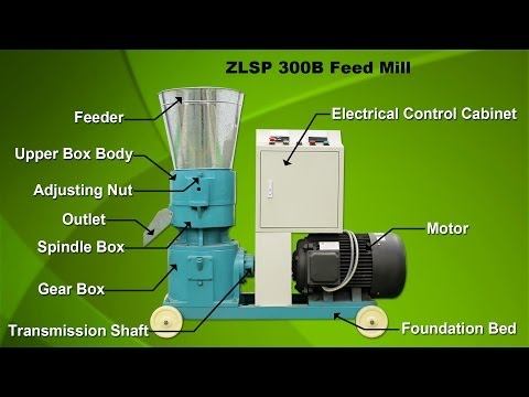 Pellet feed mill makes nourishing pellets feed making your animal healthier