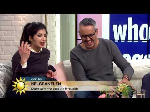 "Soraya Hashim: ""Sexism säljer"" - Nyhetsmorgon (TV4)"