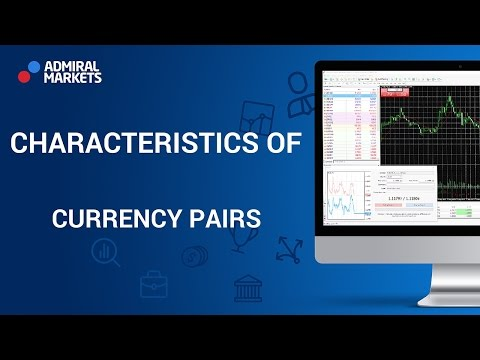 Characteristics of currency pairs