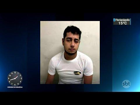 Acusado de matar esposa e enteadas a facadas é preso em SP | SBT Notícias (21/06/18)
