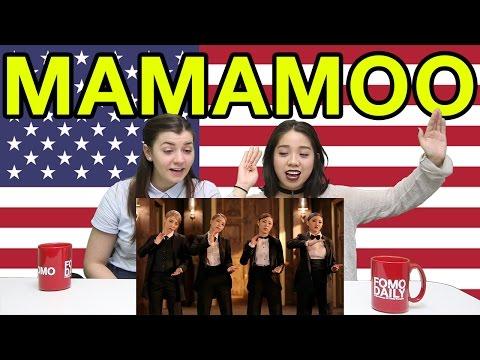 "Fomo Daily Reacts To Mamamoo ""Décalcomanie"""
