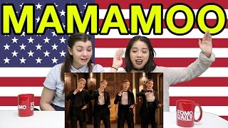 "Americans React to Mamamoo ""Décalcomanie"""
