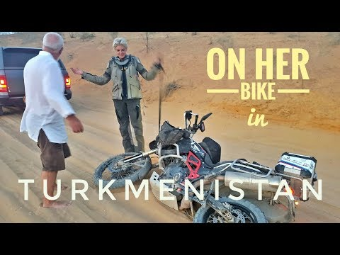 Turkmenistan. On Her Bike Around the World. Episode 9.
