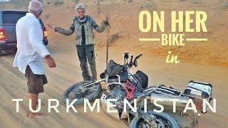 Turkmenistan. On Her Bike Around the World. Episode 9