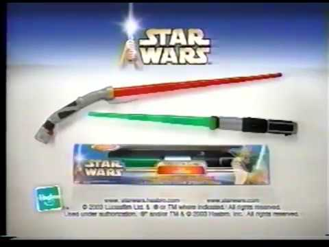 Star Wars Lightsaber Toy Commercial 2003 Youtube