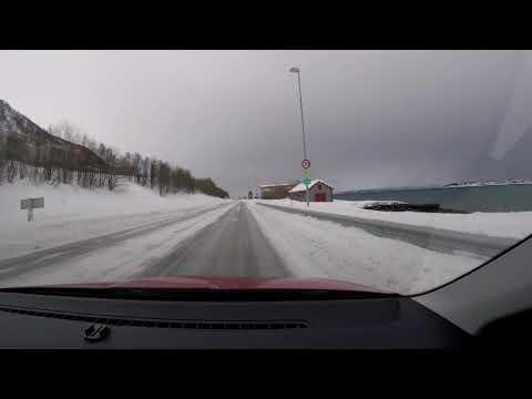 【4K】Norway Trip 2018,  Tromso to Lenangsstraumen