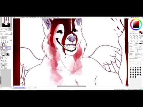 GORETOBER - TOO MUCH BLOOD [speedpaint]