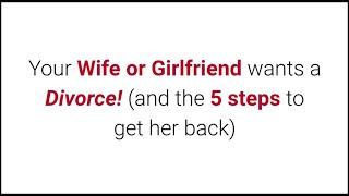 Wife wants girlfriend