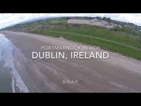 Portmarnock Beach, Dublin, Ireland *HD*