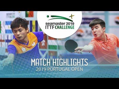Peng Wang Wei vs Yu Heyi | 2019 ITTF Challenge Plus Portugal Open Highlights (Pre)