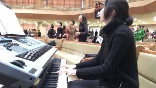 하늘위의 주님밖에(God is the strength of my heart)- 양양 피아노