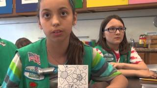 Trautwein Girl Scouts Drawing Badges