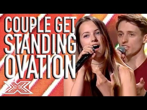 Duet Blows Judges Away With 'The Prayer' And Gets A Sanding Ovation! | X Factor Global