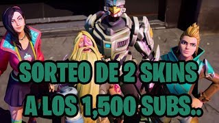 TWO SKINS SWEEP STAKE AT 1,500 SUBS, FORTNITE - YOTA002