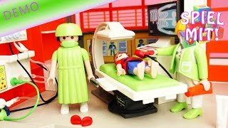 Playmobil Kinderklinik Erweiterung - Röntgenraum Demo 6659 für Playmobil City Life Kinderklinik