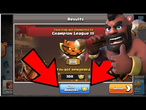 GIVING BONUS MEDALS TO 'CLAN MEMBERS' - Clan War Leagues - Clash Of Clans