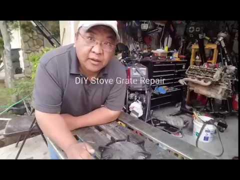 DIY Stove Grate Repair