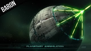 Planetary Annihilation - Blowing Planets Up With the Death Star! (Planet Destruction Montage)