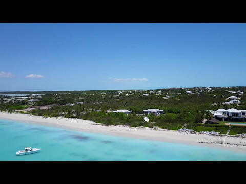 Turks and Caicos Islands Real Estate - Pelican Point 6 Acre Beach Front Land Parcel