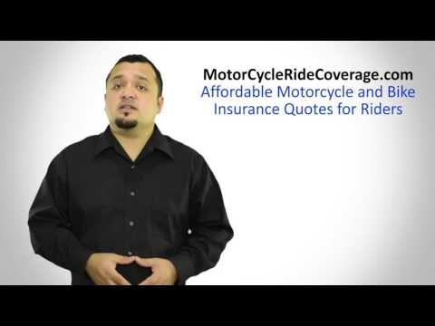 Temporary Motorcycle Insurance - Get Your Policy and Save!