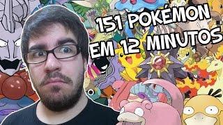 REMEDY, A POKÉDEX HUMANA! - Desafio: 151 Pokémon em 12 Minutos!