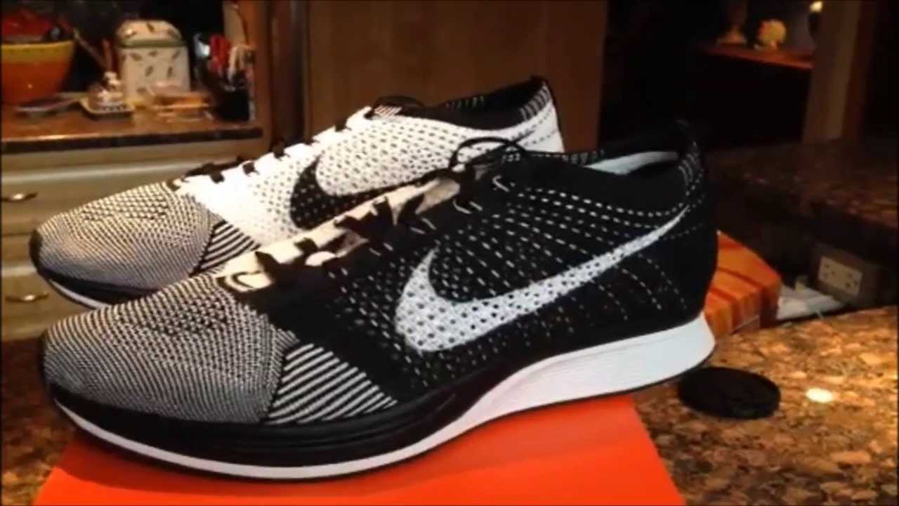 d3738d478c27 ... cheap nike flyknit racer black white review and on feet youtube 429b2  46dec