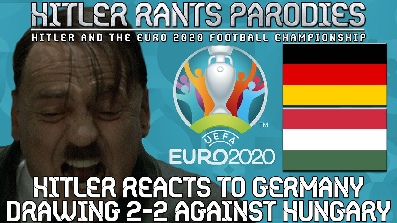 Hitler reacts to Germany drawing 2-2 against Hungary