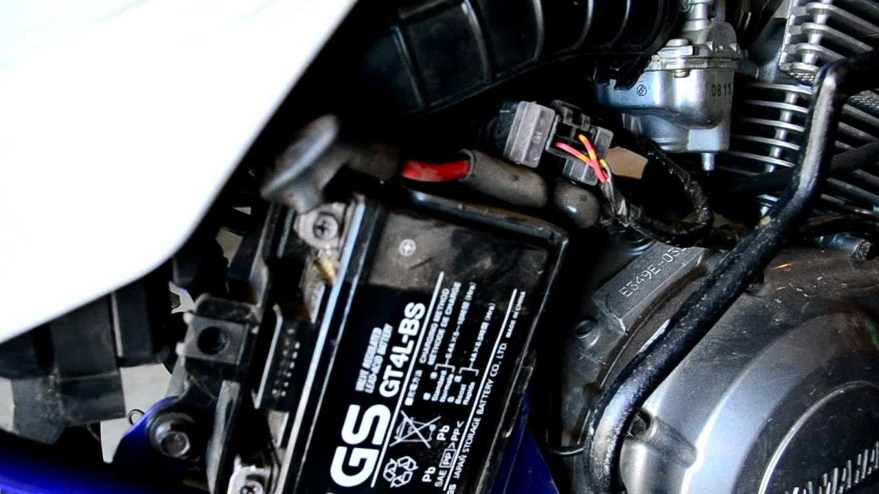 Battery For Yamaha Ttr