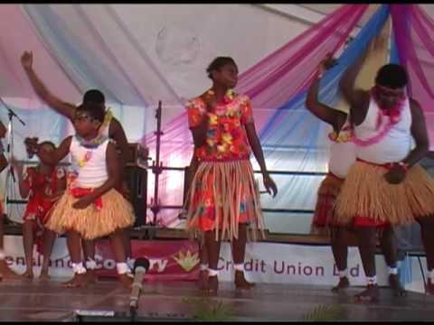 Torres Strait Islander dancers at Townsville Festival (2)
